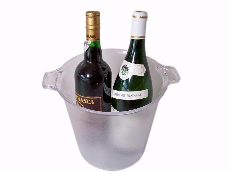 Champagnekoeler voor 2 flessen