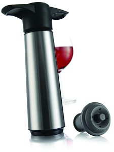 Vacuvin Winesaver set RVS