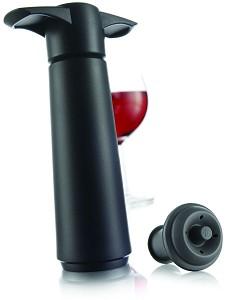 Vacuvin wine saver zwart + doppen
